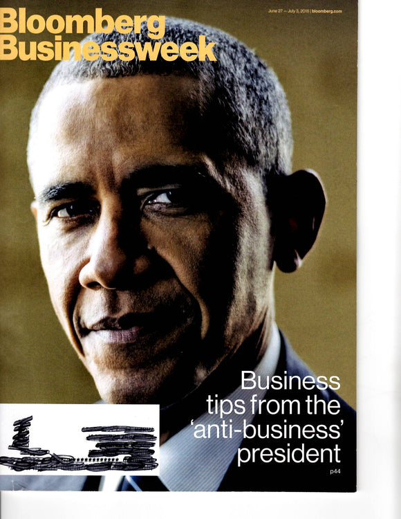 06 27 2016 OBAMA Bloomberg Business Week Magazine