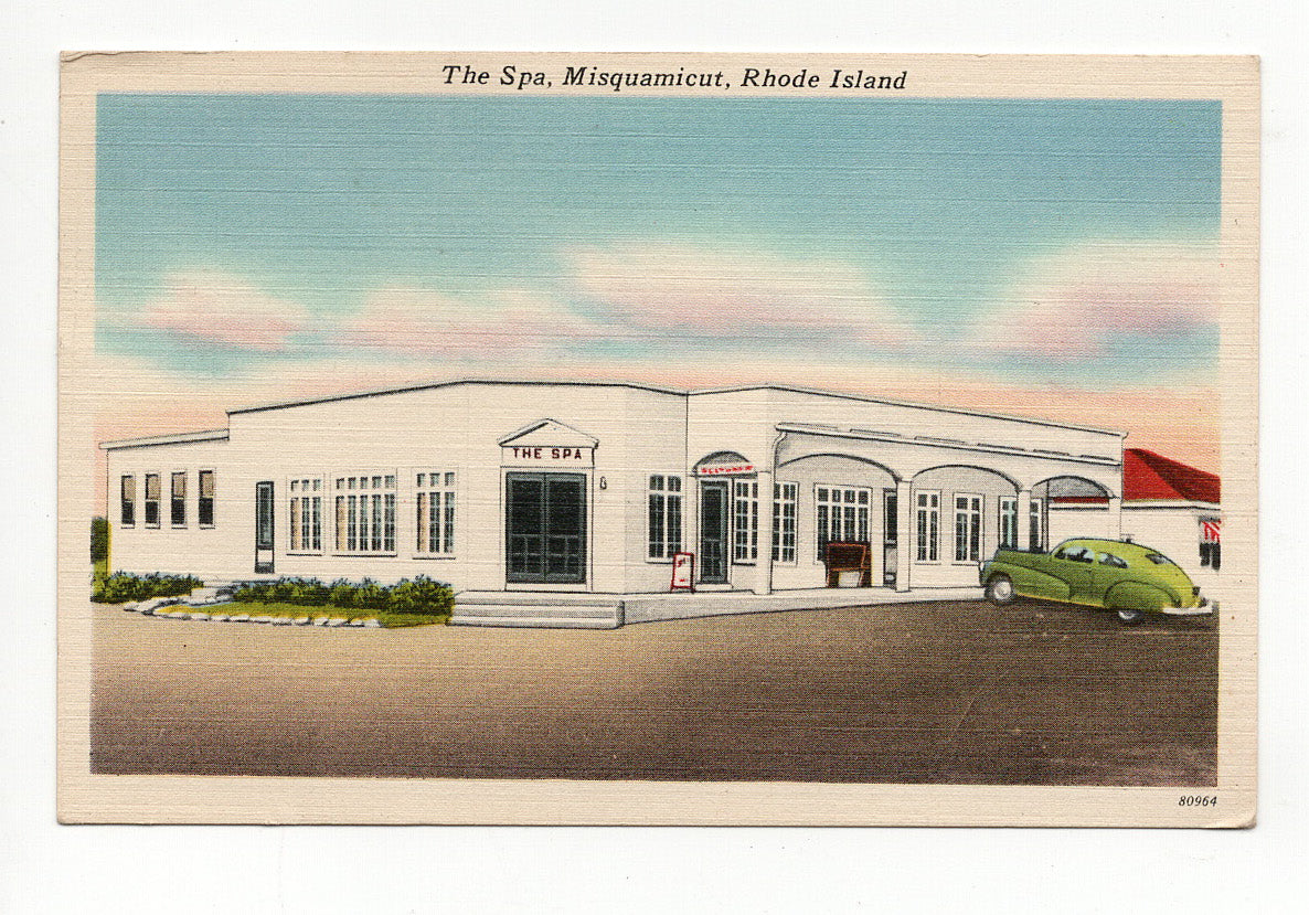 08 18 1952 The Spa Misquamicut, Rhode Island PC5-13