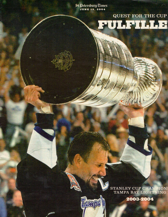 06 12 2004 St Pete Times Stanley Cup Champions