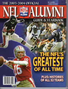 2003 - 2004 NFL Alumni Guide & Yearbook