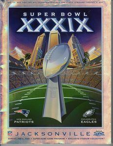 02 06 2005 Super Bowl Program Exclusive Stadium Edition