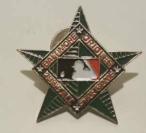 1993 All Star Game Lapel Pin