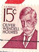 03 07 1979 GCI 3 Gift Card Insert -  Post Marked Oliver Wendell Homes
