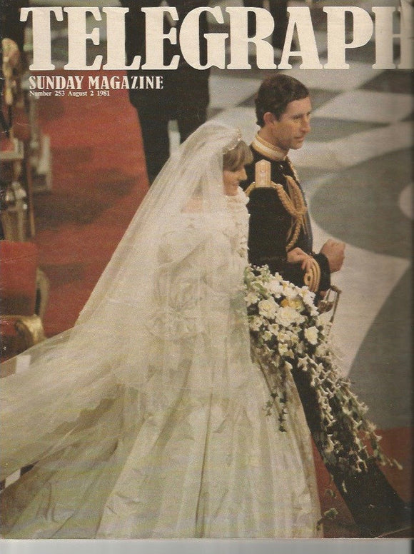 08 02 1981 Diana & Charles Wedding  -Telegraph Magazine