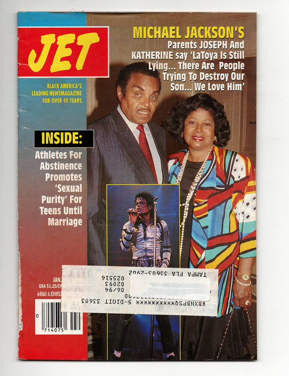 01 10 1993 JET Magazine Michael Jackson's parents