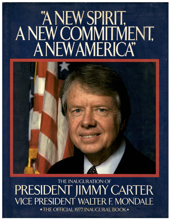 01 20 1977 Jimmy Carter Inauguration Book