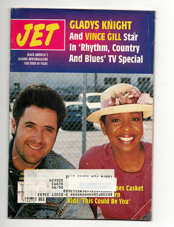 03 07 1994 JET Magazine Gladys Knight and Vince Gill