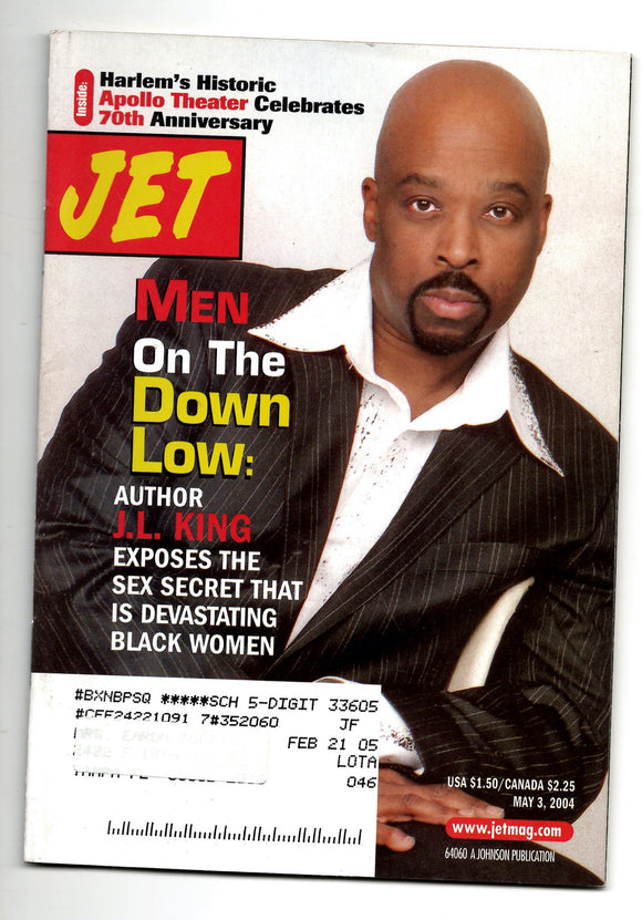 05 03 2004 JET Magazine J.L. King Men on the Down Low