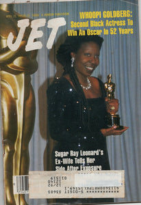 04 22 1991 JET Magazine Whoopi Goldberg Sugar Ray Leonard's Wife
