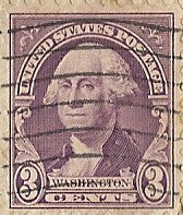 04 09 1937 GCI 2 George Washington 3c