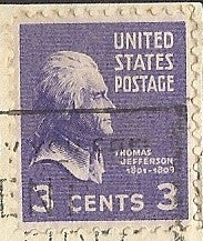 04 28 1942 GCI 2 3c Thomas Jefferson