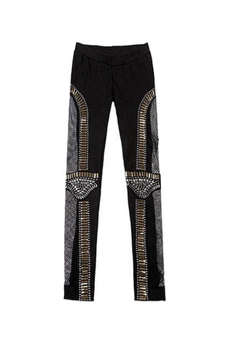 Aztec Bead Leggings