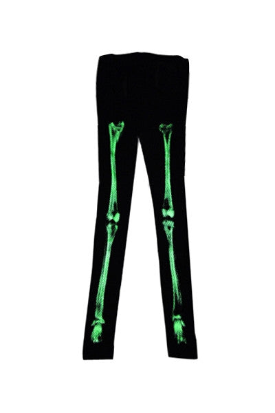 Neon Skeleton Leggings