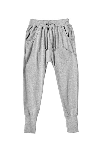 Gray Slouch Pants