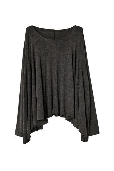 Luxe Cotton Cape Top