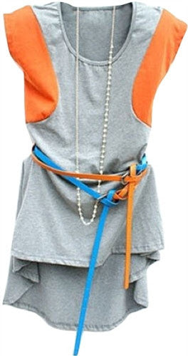 Two toned sporty tunic