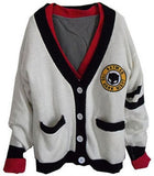 Sporty old school cardigan jacket
