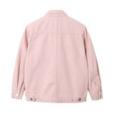Retro Pink Denim Jacket