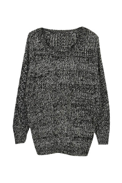 Monochrome Knitted Sweater