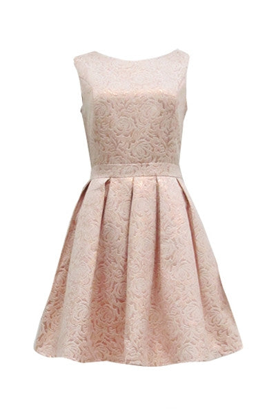 Ladies Who Lunch Brocade Dress