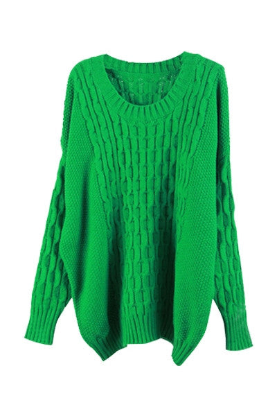 Green With Envy Knitted Sweater