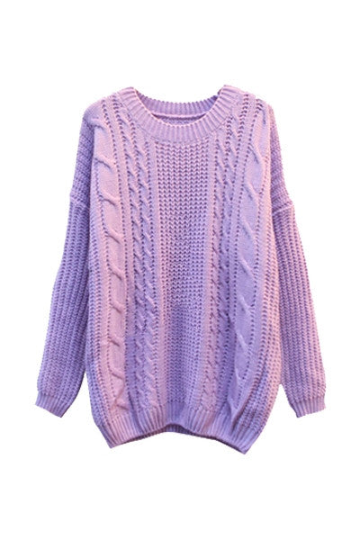 Say It With Color Knitted Sweater