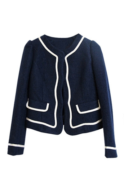 Navy & White Jacket