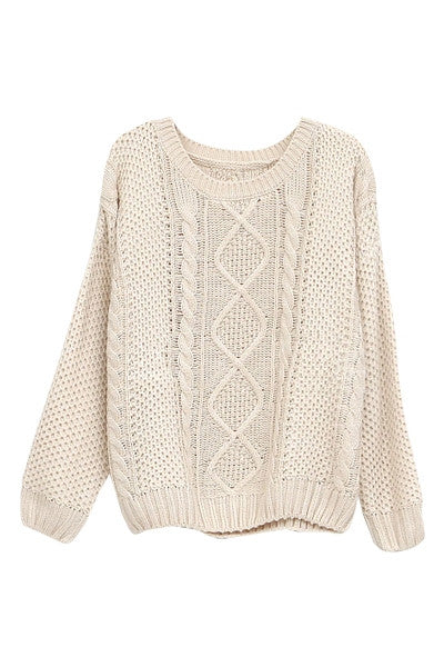 Wrap Up Warm Knitted Sweater
