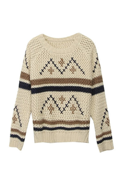 Alpine Warmth Knitted Sweater