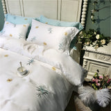 Embroidered Jordenna Sheet Set