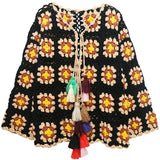 Crochet Poncho Style Top
