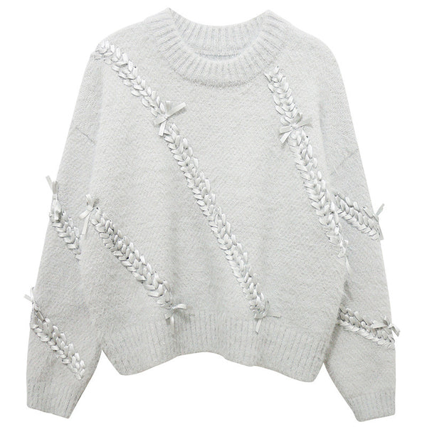 Ribbon Detailed Sweater