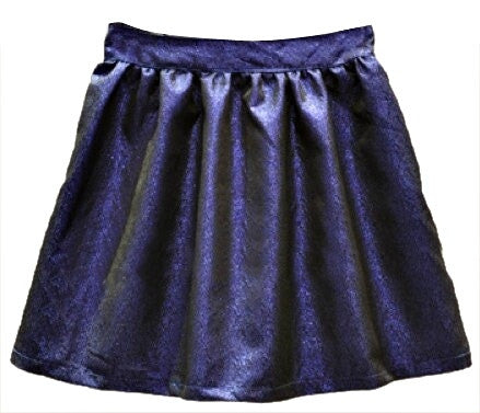 Metallic Disco Skirt