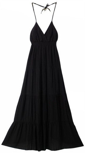 Smoking Black Maxi Dress