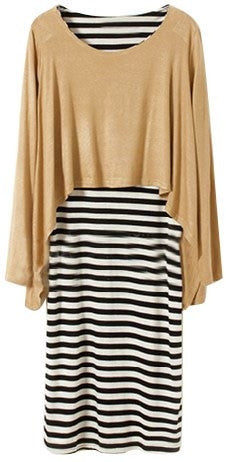 Two-piece Stripy Dress