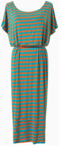 Stripy Column Dress