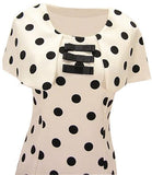 Dotty Caplet Dress
