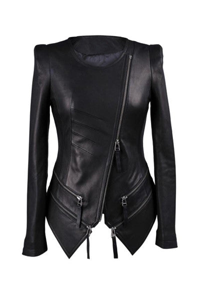 Catwoman Lamb Leather Jacket