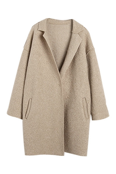 Biscuit Boyfriend Coat