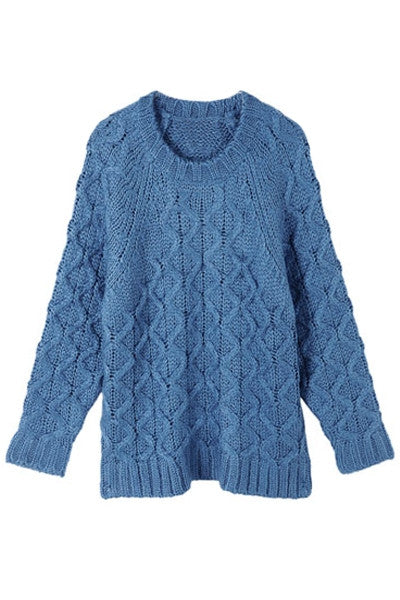 Aran Knit Sweater