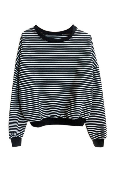 Monochrome Sweatshirt