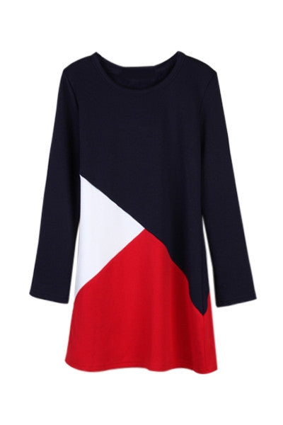 Red White & Blue Shift Dress