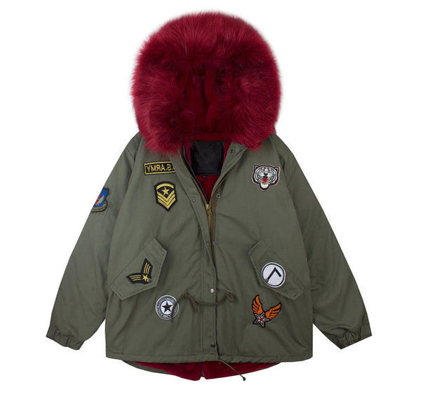 Red Hot Army CoatRed Hot Army Coat