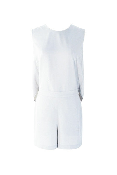 Pure White Playsuit