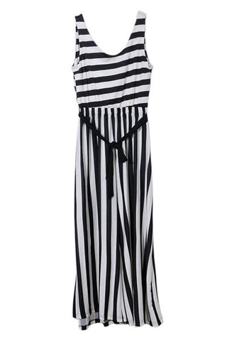 2-Way Stripe Jumpsuit