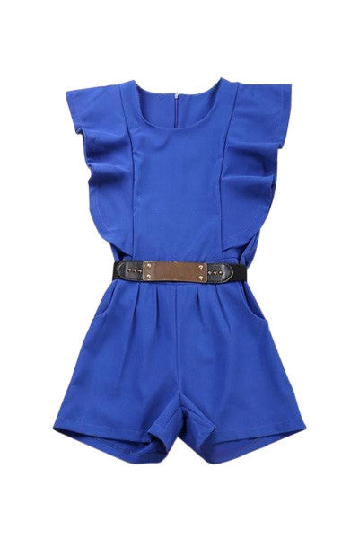 Blue Wave Playsuit