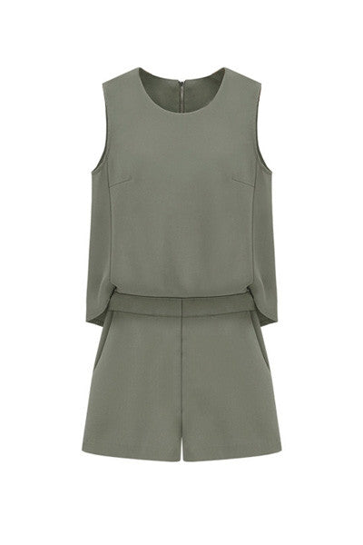 Untucked Playsuit