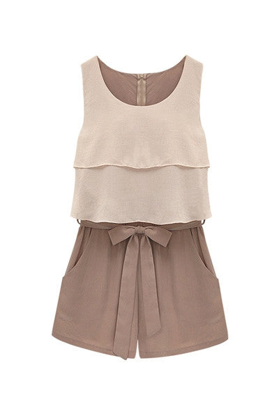 Latte Playsuit