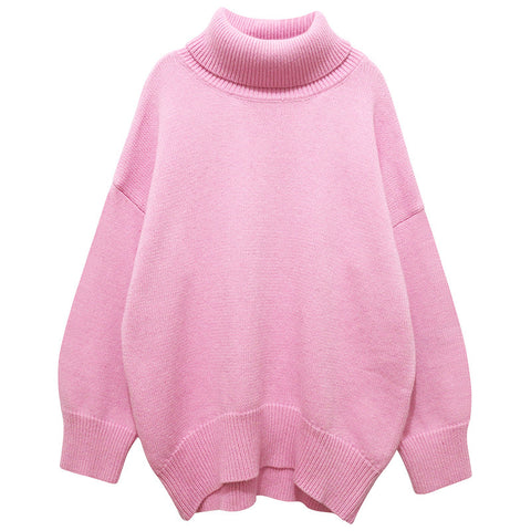 Pale Pink Turtle Neck