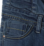 Quadruple Button High Waist Jeans